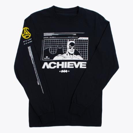 Batman Hero Long Sleeve T-Shirt