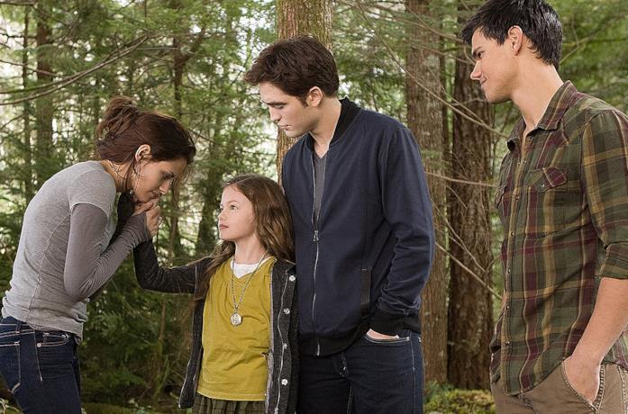 Twilight, una scena con Edward e Bella