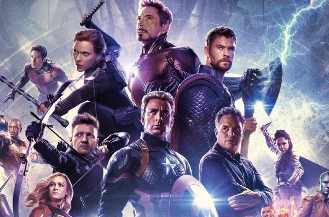 Il cast di Avengers: Endgame nel poster ufficiale del film