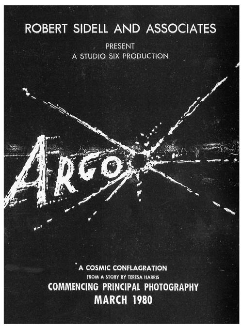 L'originale finto poster di Argo