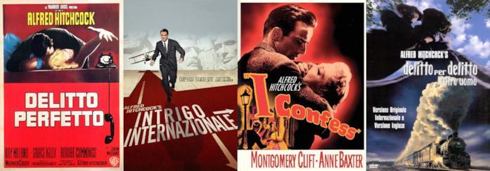Le locandine dei film contenute nella Vinyl Collection di Alfred Hitchcock