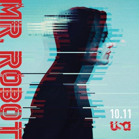 Rami Malek in Mr. Robot 3