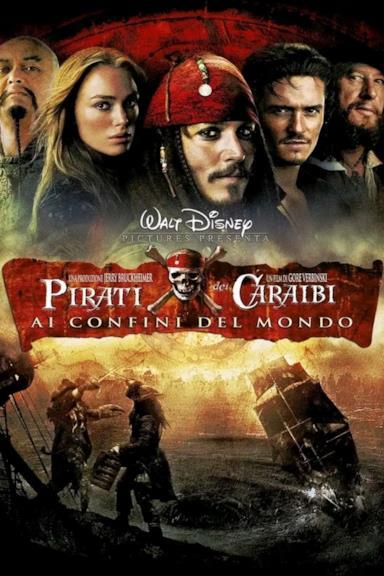 Poster Pirati dei Caraibi - Ai confini del mondo