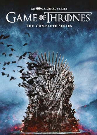Il dettaglio della copertina de Il Trono di Spade: La Serie Completa