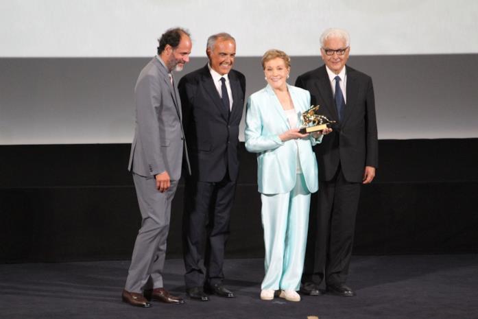 Julie Andrews e il suo Leone d'Oro a Venezia 76