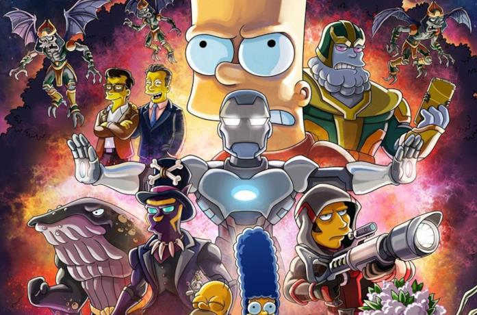 I Supereroi Marvel e I Simpson insieme per una puntata speciale