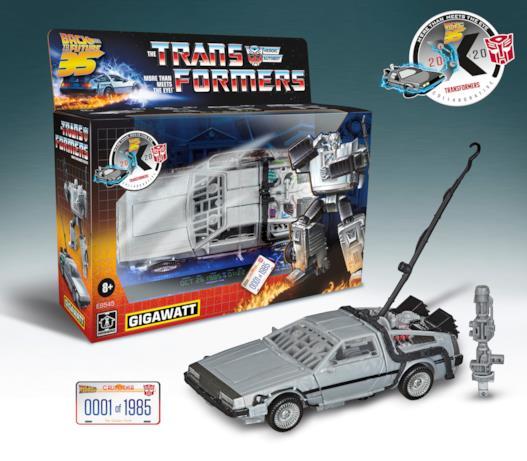 Il box della DeLorean Transformers