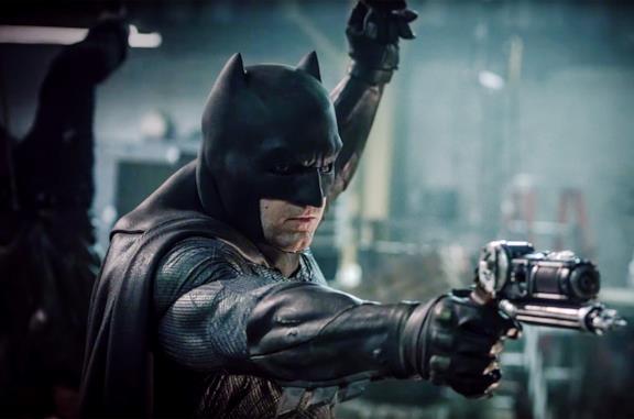 Un'immagine di Ben Affleck nei panni di Batman