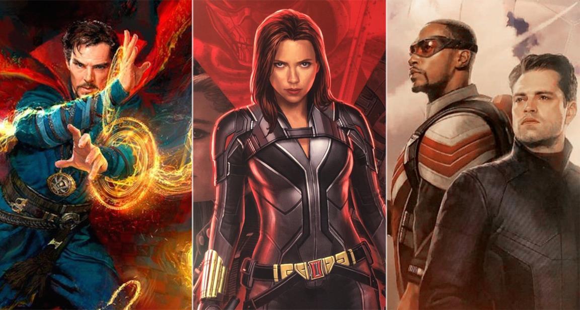 Doctor Strange, Vedova Nera, Falcon & The Winter Soldier