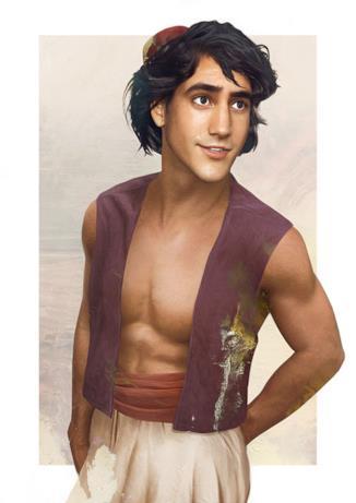 Dal cartoon Disney al mondo reale: Aladdin