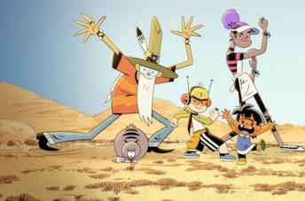 7 serie animate folli come Kid Cosmic