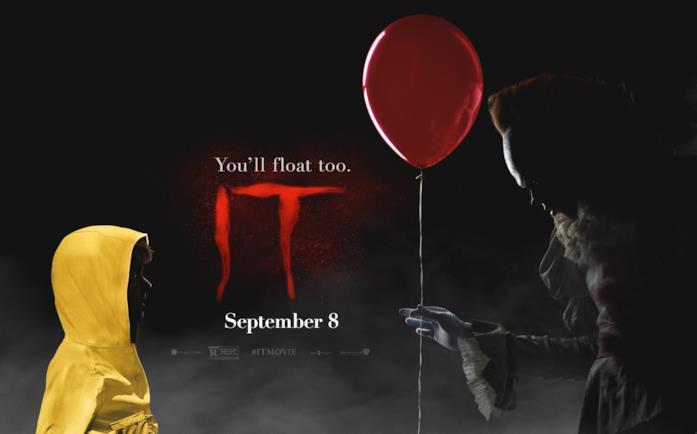 Georgie e Pennywise in un nuovo banner di IT