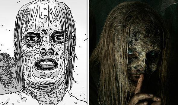 Alpha di The Walking Dead