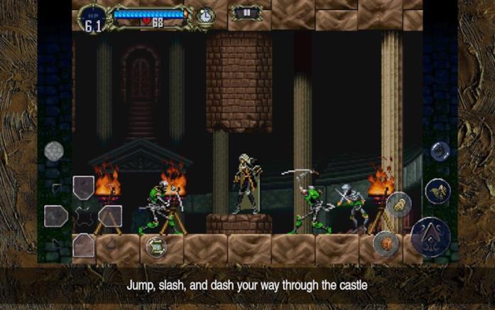 Castlevania gameplay mobile