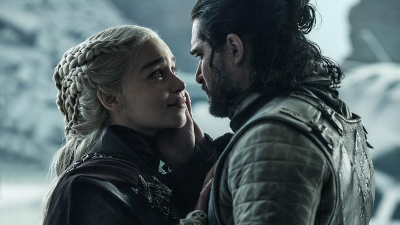 Daenerys e Jon nell'episodio di GoT 8x06, The Iron Throne