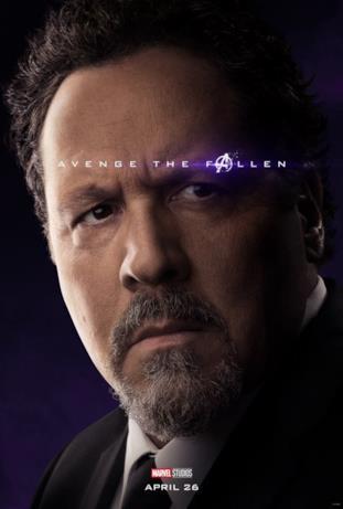 Avenger the fallen, i sopravvissuti: Happy Hogan
