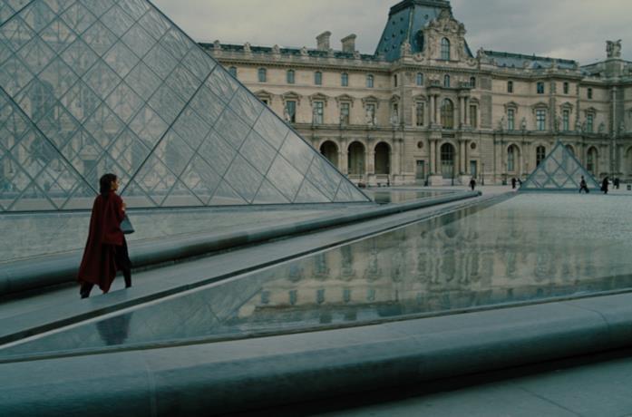 Diana Prince al Louvre