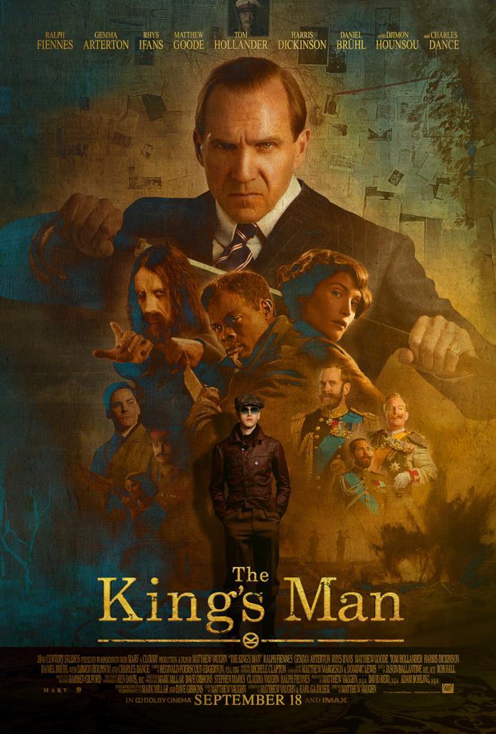 I protagonisti di The King's Man - Le Origini nel nuovo poster