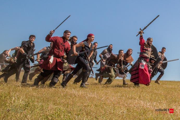 All'attacco sul campo del gioco di ruolo battle for vilegis