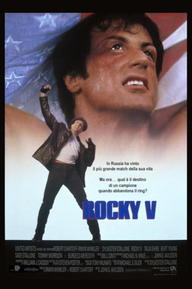 Poster Rocky V