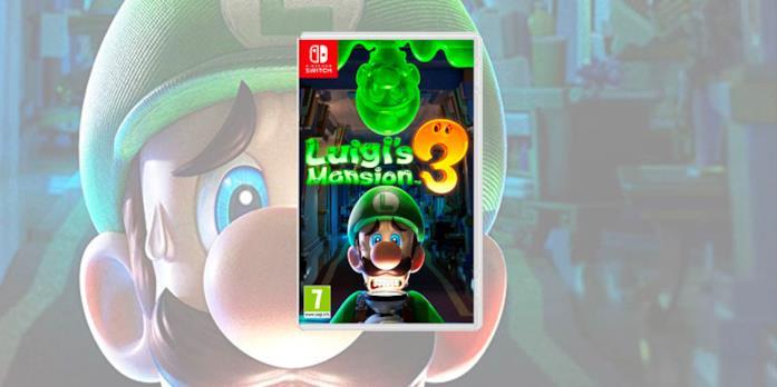 La boxart di Luigi's Mansion 3
