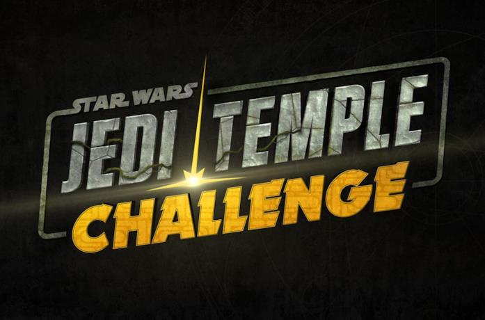 Il logo del game show per giovanissimi Star Wars: Jedi Temple Challenge