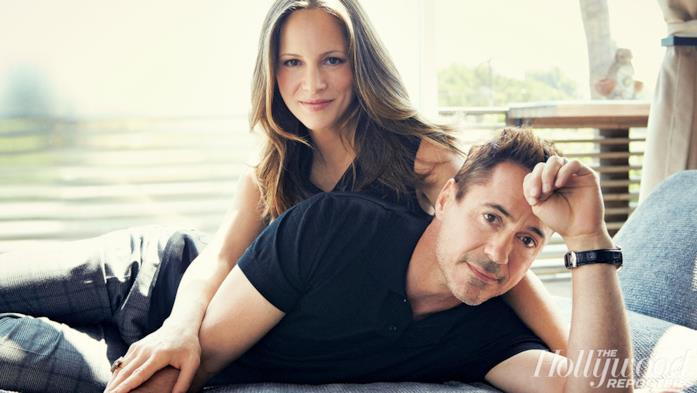In primo piano Susan Downey e Robert Downey Jr.