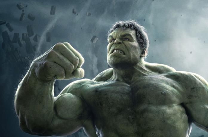 Bruce Banner e Hulk interpretati da Mark Ruffalo nel MCU