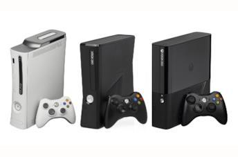 Le versioni di xbox 360