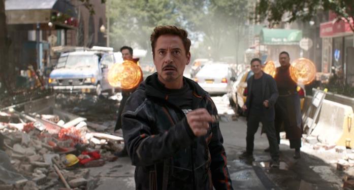Robert Downey Jr. nel trailer di Infinity War