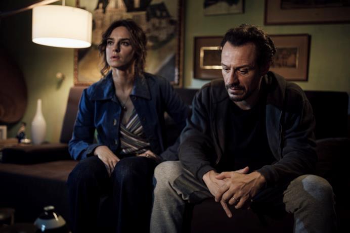 Un momento di Riko e Sara in crisi in Made in Italy