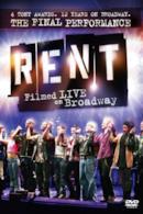 Poster Rent: Filmed Live on Broadway