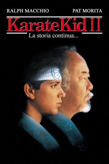 Poster Karate Kid II - La storia continua...