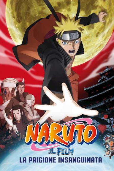 Poster Naruto il film: La prigione insanguinata