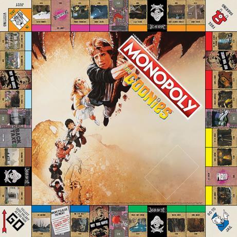 Tabellone Monopoly con le location di Astoria