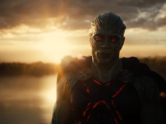 Martian Manhunter appare alla fine di Justice League