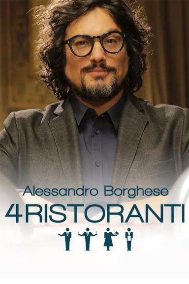 Poster Alessandro Borghese - 4 Ristoranti