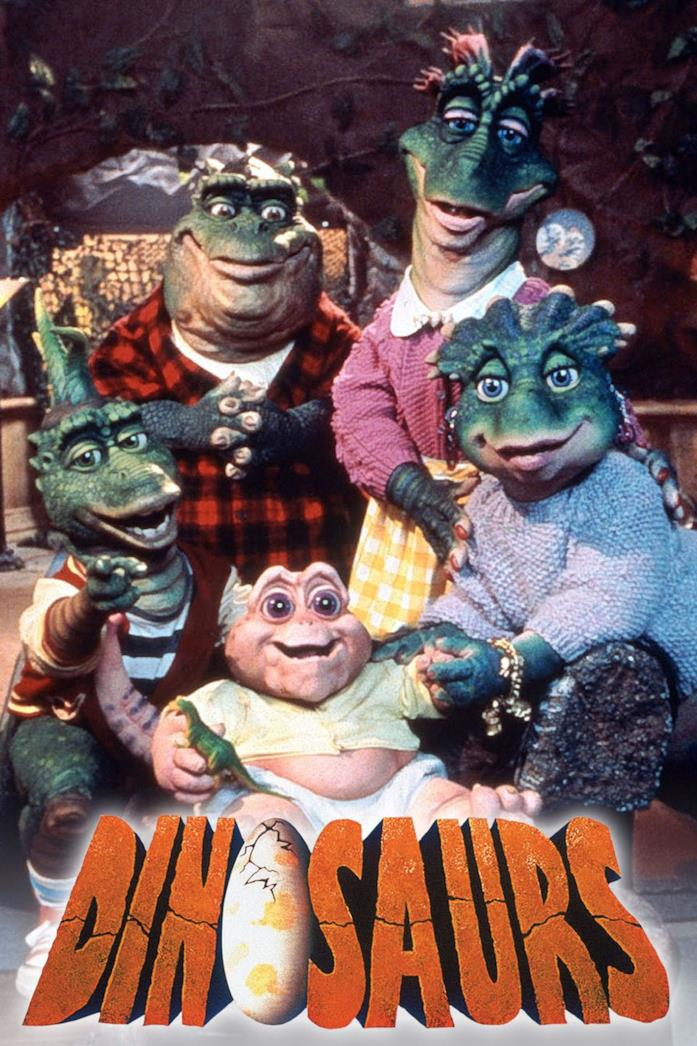 La locandina de I Dinosauri