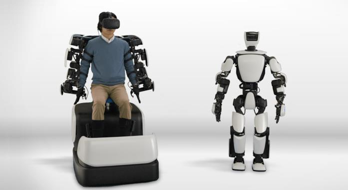 Immagine stampa del robot umanoide T-HR3
