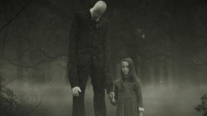 Lo Slender Man utilizzato nel documentario Beware the Slender Man