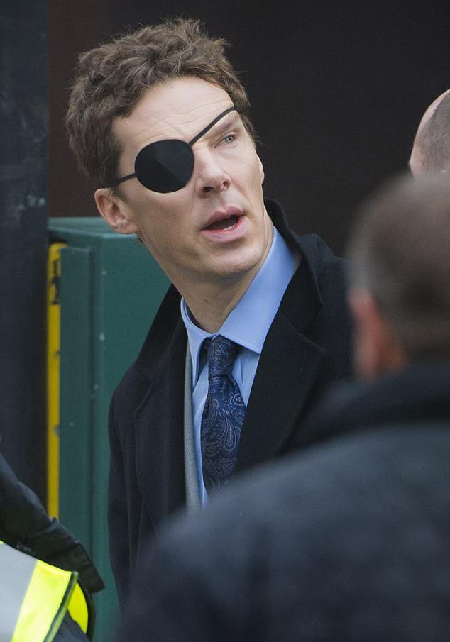 Benedict Cumberbatch alias Patrick Melrose