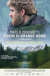 Poster Paolo Cognetti. Sogni di Grande Nord