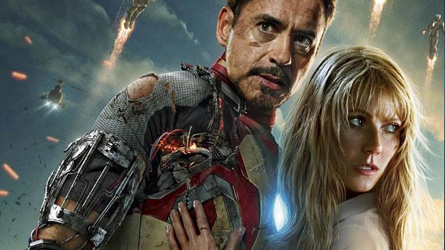 Tony e Pepper in Iron Man 4