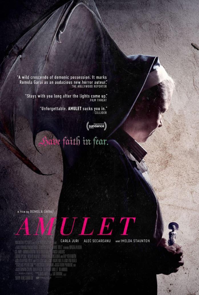 Il poster ufficiale di Amulet