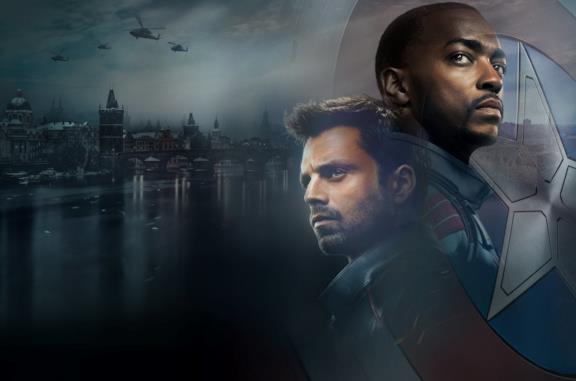 Sebastian Stan e Anthony Mackie protagonisti di The Falcon and the Winter Soldier