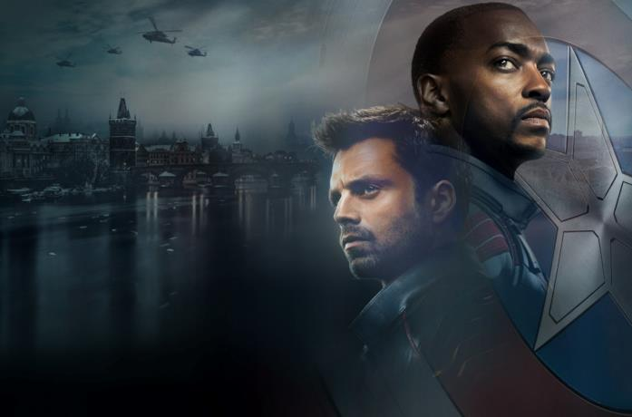 Sebastian Stan e Anthony Mackie protagonisti di The Falcon and the Winter Soldier