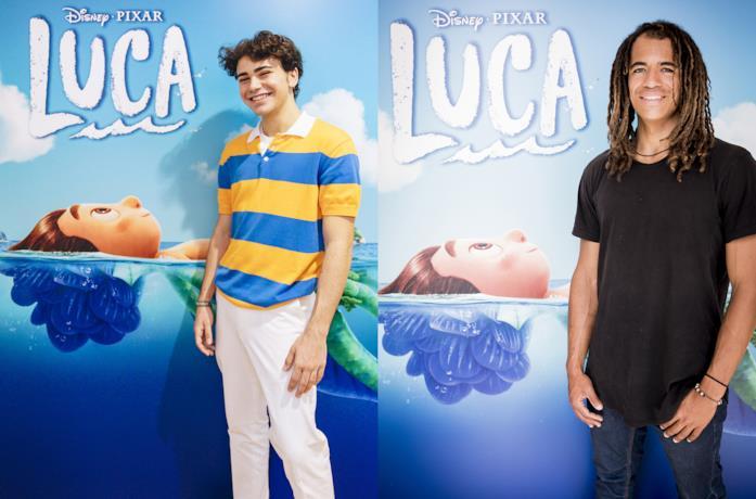 Luca: Luciano Spinelli e Nick Pescetto