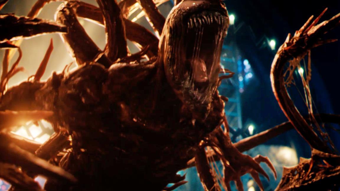 Carnage scatena morte e distruzione nel trailer del sequel di Venom