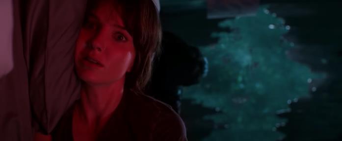 Una presenza oscura sta per colpire la protagonista in Malignant