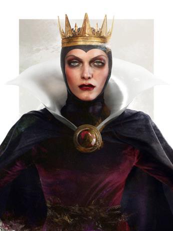 Dal cartoon Disney al mondo reale: la regina Grimilde